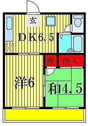 メゾン・ドゥ アリス[3階]の間取り