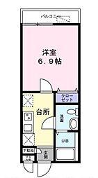 埼玉県さいたま市南区別所1丁目の賃貸アパートの間取り