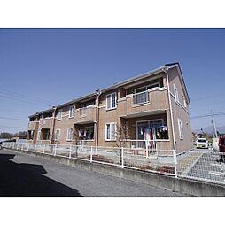 長野県佐久市新子田の賃貸アパートの外観