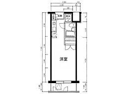 メインステージ西国分寺壱番館[1階]の間取り