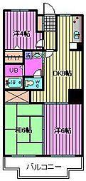 埼玉県さいたま市大宮区寿能町1丁目の賃貸マンションの間取り