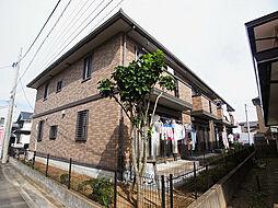 埼玉県三郷市栄3丁目の賃貸アパートの外観