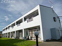 レジデンス165[1階]の外観