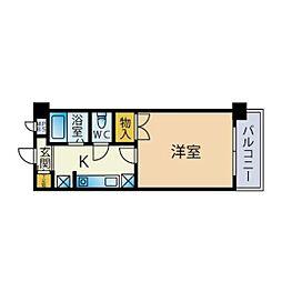 フォルム南福岡[402号室]の間取り