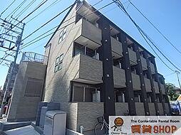 千葉県船橋市東船橋4丁目の賃貸アパートの外観