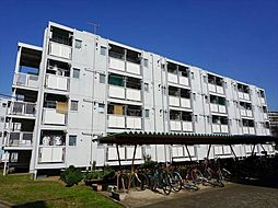 ビレッジハウス勝田2号棟[1階]の外観