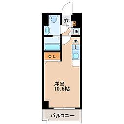 レジディア仙台本町[8階]の間取り