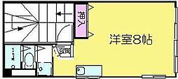 SOPHIA URAKAMI[3F号室]の間取り