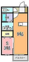 サニースクエア C棟[103号室]の間取り