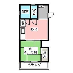 ホームズ木[3階]の間取り