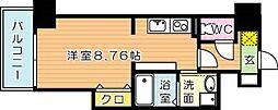 Legend113(レジェンド113)[9階]の間取り