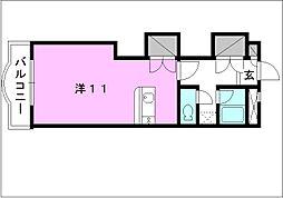 メゾン・ドゥ・シュー[507 号室号室]の間取り