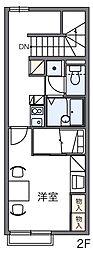 サンリーブIII[2階]の間取り