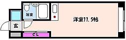 神戸新交通六甲アイランド線 アイランドセンター駅 徒歩5分の賃貸マンション 4階1Kの間取り
