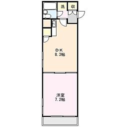 エトワール大宮[4階]の間取り
