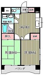 三成ビル2[203号室]の間取り