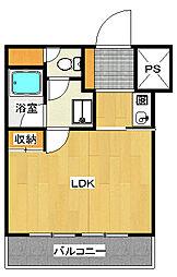 大通りハイツ[8階]の間取り