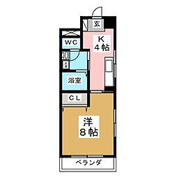 第2ジーオンビル[3階]の間取り
