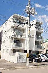 北海道札幌市北区北三十八条西2丁目の賃貸マンションの外観