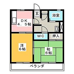 箕田駅 3.5万円