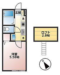 仮)小山1丁目新築物件[103号室]の間取り