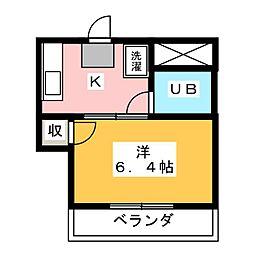 千代田マンション 正明寺[2階]の間取り