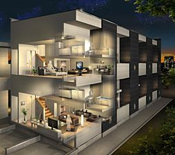 北区八代町二丁目2階建て アパート[1階]の外観