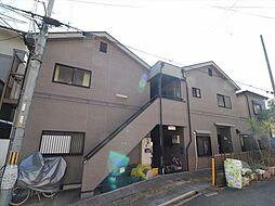 大阪府吹田市出口町の賃貸アパートの外観