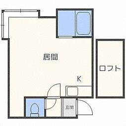 メゾンドソニア[2階]の間取り