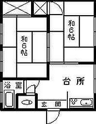 [一戸建] 宮崎県延岡市平原町1丁目 の賃貸【/】の間取り