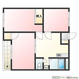 スペースE[4階]の間取り