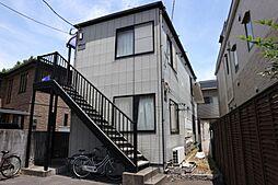 千葉県市川市八幡4の賃貸アパートの外観