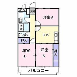 藤保マンション[202号室]の間取り