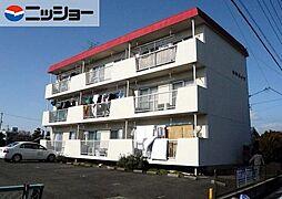 愛知県北名古屋市鹿田出町西の賃貸マンションの外観