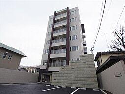 栃木県宇都宮市桜3丁目の賃貸マンションの外観