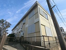 千葉県佐倉市中志津3丁目の賃貸アパートの外観