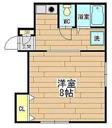 T's SQUARE akutagawa(ティーズスクエア芥[2階]の間取り