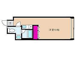 神戸新交通六甲アイランド線 アイランドセンター駅 徒歩5分の賃貸マンション 8階ワンルームの間取り
