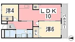ドミール101[501号室]の間取り