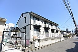 大阪府枚方市北山1丁目の賃貸アパートの外観