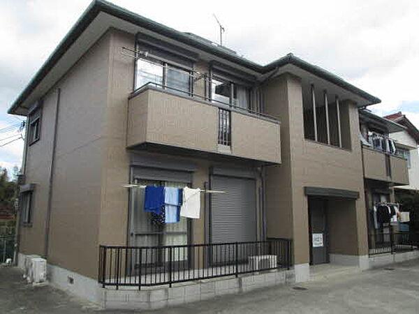 和歌山県海南市井田の賃貸アパートの外観