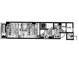 大石ビル[5階]の間取り