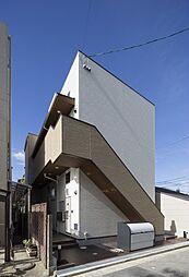 大阪府堺市堺区海山町4丁の賃貸アパートの外観