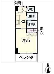 コーポ友とぴあ 62[2階]の間取り