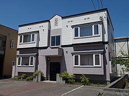 北海道札幌市東区苗穂町10丁目の賃貸アパートの外観