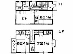[一戸建] 香川県観音寺市出作町 の賃貸【/】の間取り