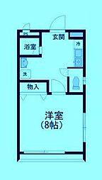 サンヒルズIII[1階]の間取り