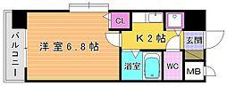 ライオンズマンション小倉駅南第3[1001号室]の間取り