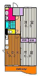 ジラソーレ[105号室]の間取り