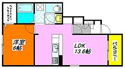 カーサ・エテルナ 103号室[1階]の間取り